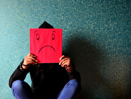 How serious is the impact of I am not happy with myself?