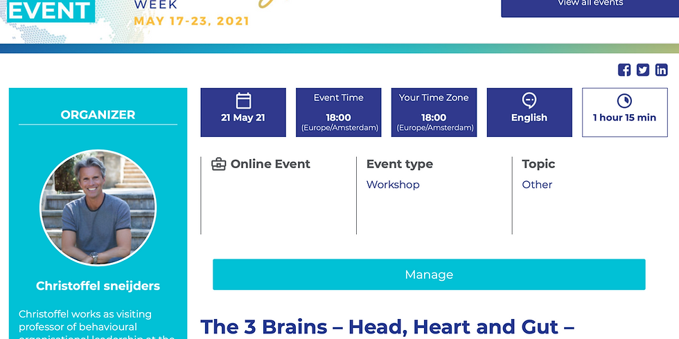 The 3 Brains – Head, Heart and Gut – Connection: The missing link for long-lasting coaching results!
