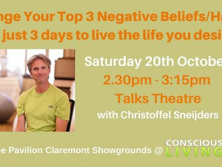 get your free ticket for the Consious Living