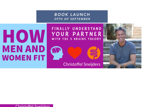 Book launch of the BESTSELLER of 2020 How Men and Women Fit, Finally Understand your partner
