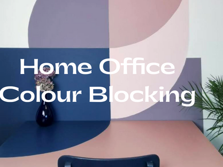 Home Office Colour-Blocking