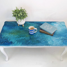 Monet Inspired Coffee table 380€