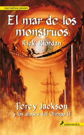 Reseña : Rick Riordan, Percy Jackson y el mar de los monstruos