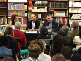 Presentación : A ira dos mansos de Manuel Esteban (Vigo, 07/10/16)