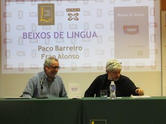 Presentación : Paco Barreiro, Beixos de lingua. Casa del Libro. Vigo (19/05/17)