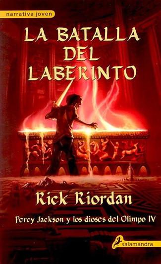 Reseña : Rick Riordan, Percy Jackson y la batalla del laberinto