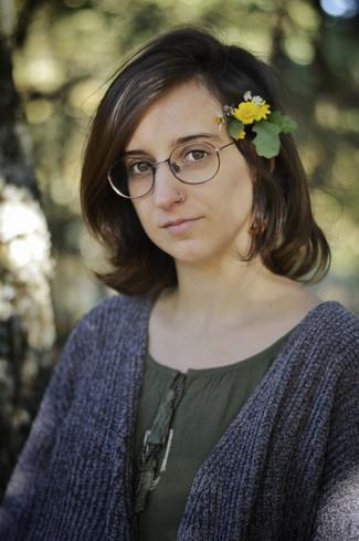 """Noelia Gómez: """"O poema é como unha parte do corpo e ao mesmo tempo é o alimento que o nutre&quo"""