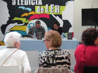Presentación : Héctor Cajaraville, Once Portas. Feira do libro de Santiago de Compostela (02/05/2017