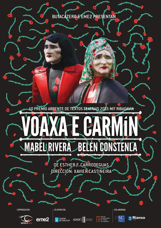 Segundo Anfiteatro : Esther F. Carrodeguas, Voaxa e Carmín