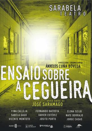 Segundo Anfiteatro : Sarabela Teatro, Ensaio sobre a cegueira. FETEGA 2016