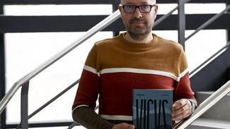 """Beto Luaces: """"O futuro dirá se este suposto """"boom"""" da novela negra en Vigo se consolida ou foi"""
