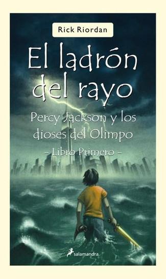 Reseña : Rick Riordan, Percy Jackson y el ladrón del rayo