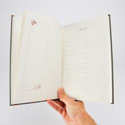 Livre de fêtes et anniversaires.