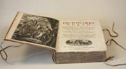 Dictionnaire Franco Espagnol - 1705