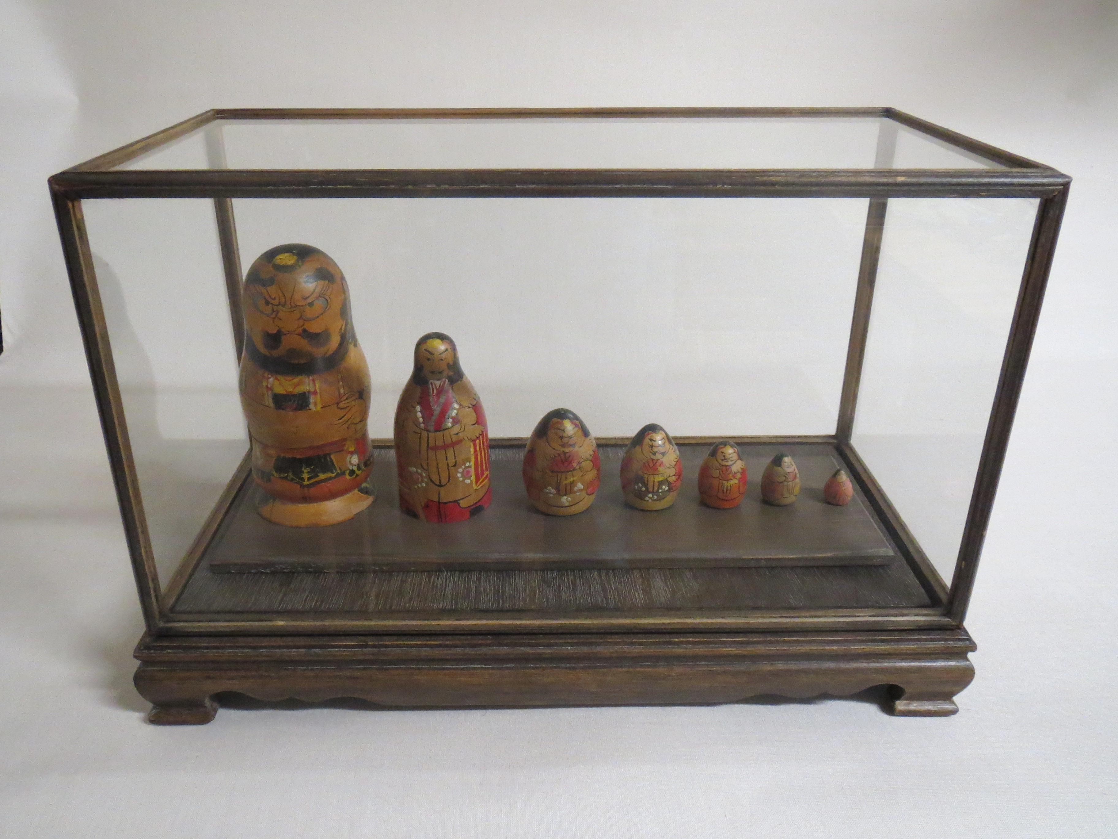 Poupées gigognes. Japon, fin XIX ème