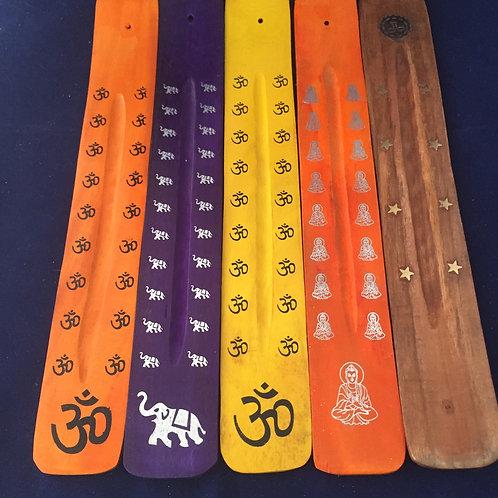 Incense stick holders/ash catchers