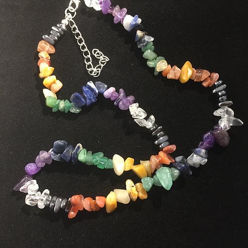 Chakra Crystal Necklace