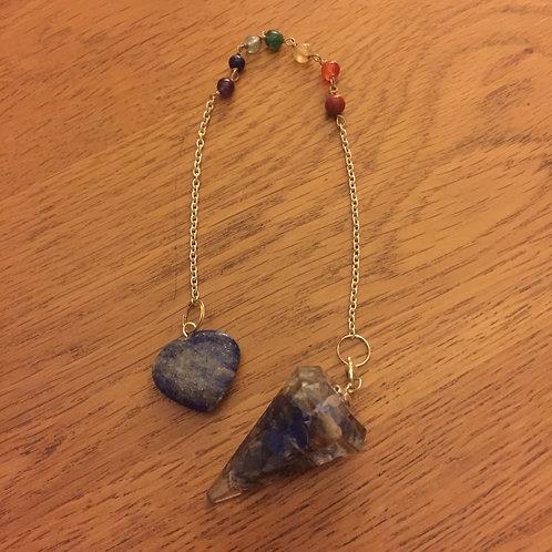 Lapis Lazuli Orgonite Pendulum/ Bracelet