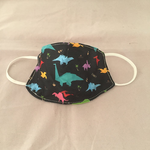 Dinosaur Reusable Face Covering (Small)
