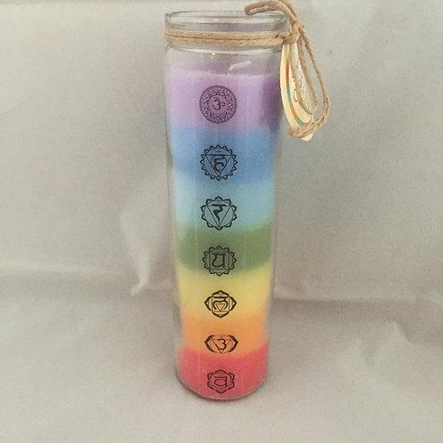 Tall Chakra Candle