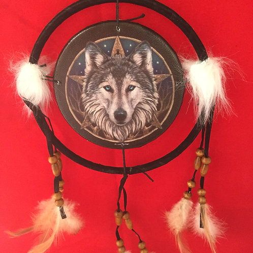 Wolf Dreamcatchers 16cm