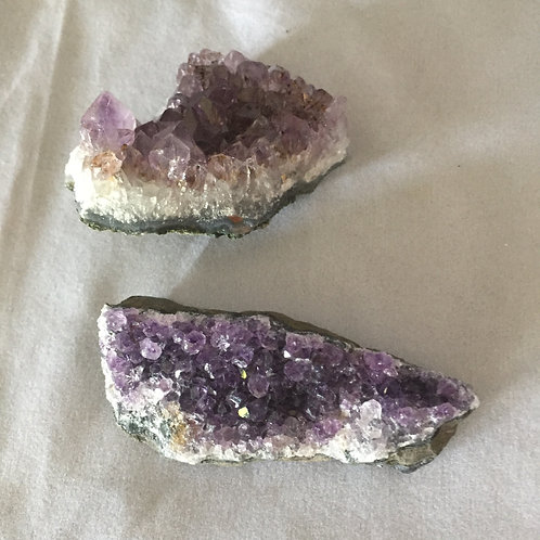 Amethyst Clusters  (approx 50/60mm))