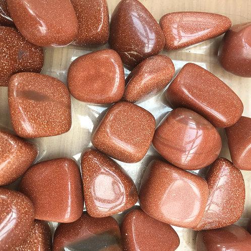 Goldstone Tumblestone