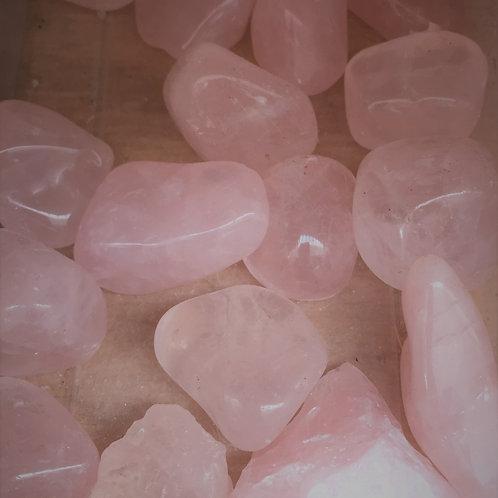 Rose Quartz Tumblestone