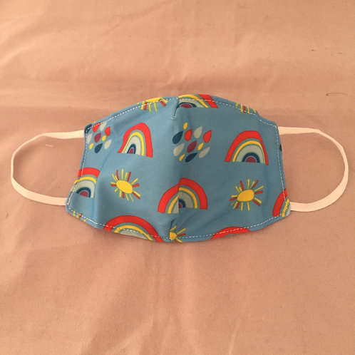 Rainbow Reusable Face Covering (Small)