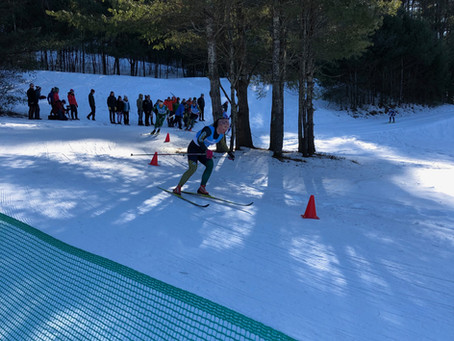 DAR Carnival - Skiers Crushed the Relays then Relayed the Crushes!