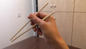 ピッキングと箸さばきの関係