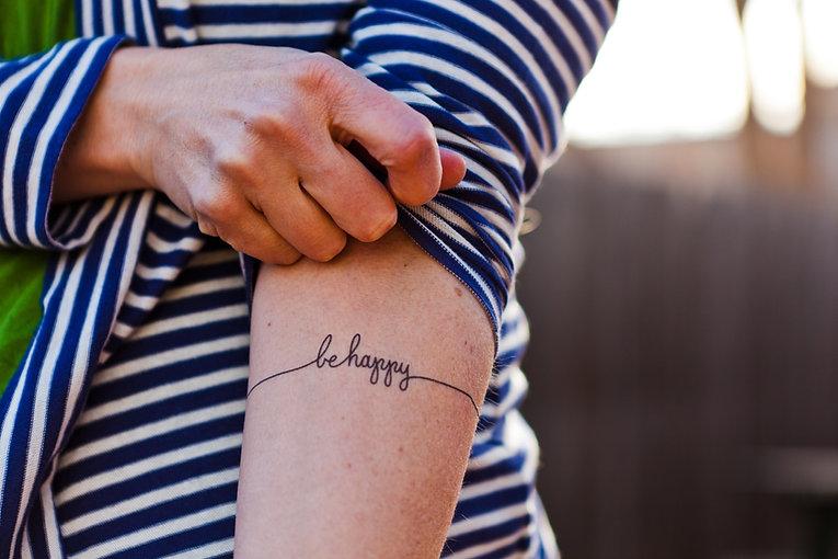 einfaches Tattoo