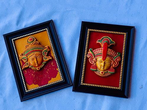 Framed Ma Durga
