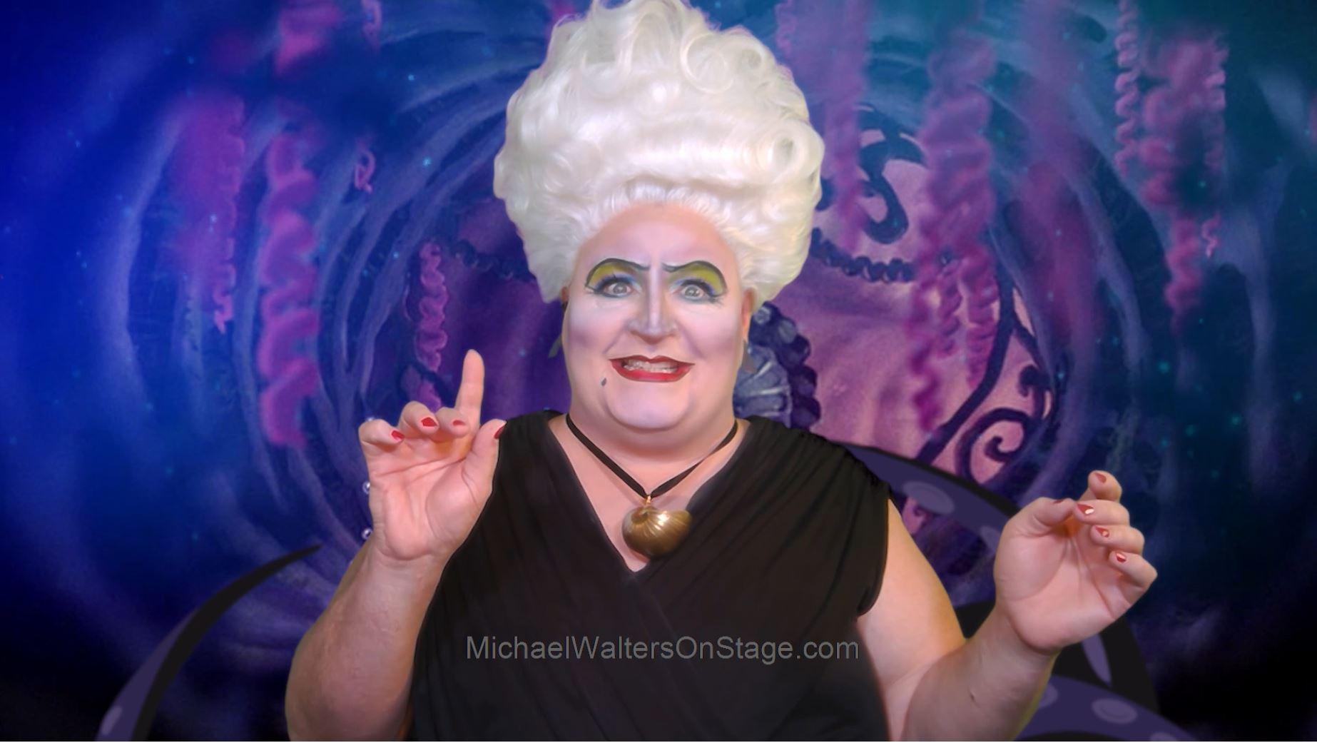 Actor Michael Walters as Ursula (The Little Mermaid, Digital concert)