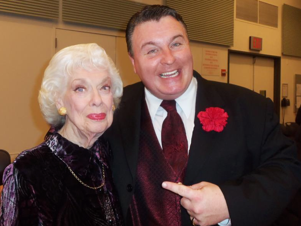 With Joyce Randoph December 2012