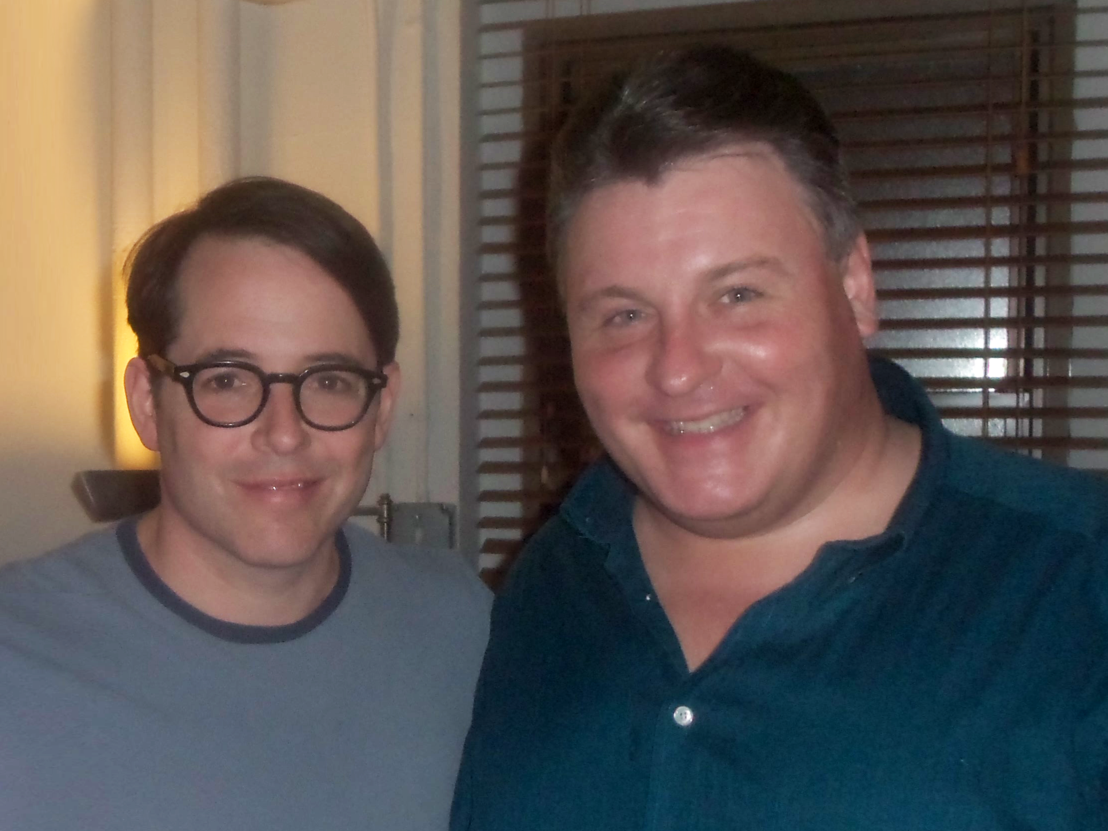 MLW with Matthew Broderick