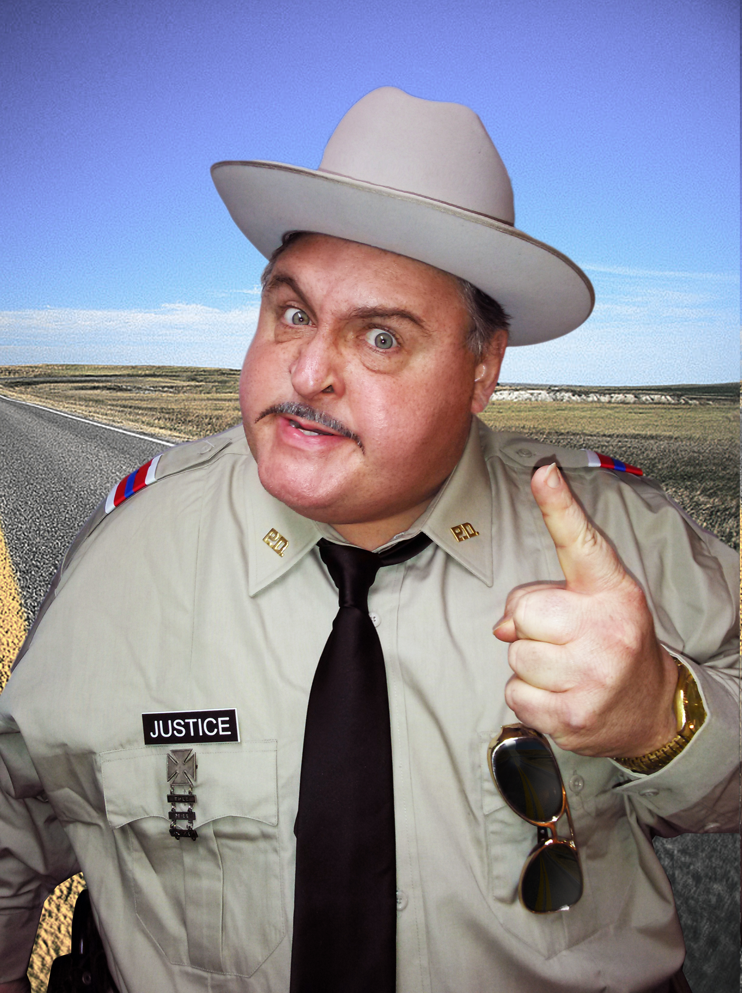 Michael Walters as Buford T Justice 2