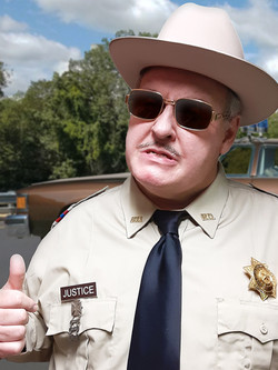Actor Michael Walters as Buford T. Justice
