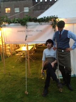 Port Eliot Festival - Food Tent
