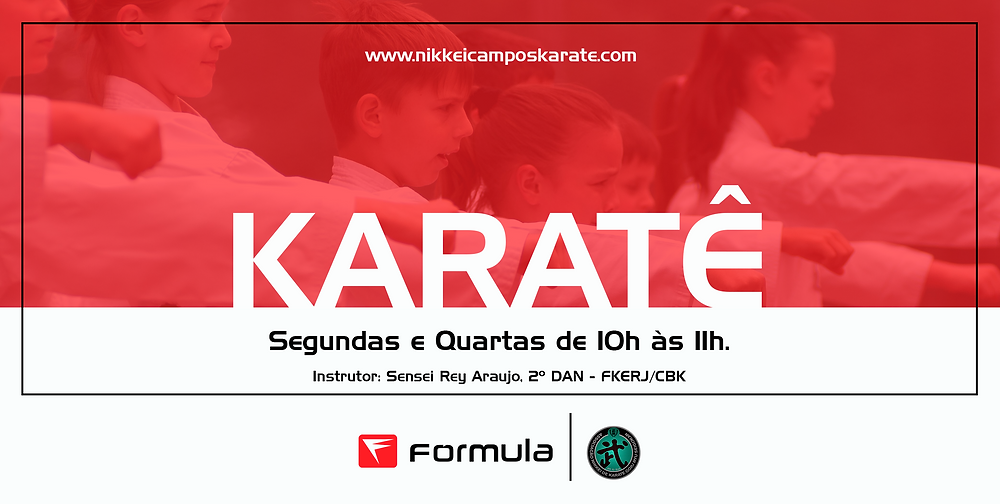 karate na academia formula campos
