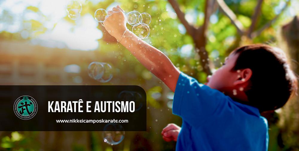 karate autismo criança