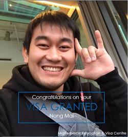 Mai_Visa granted