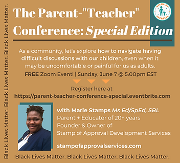 The Parent-_Teacher_ Conference Special