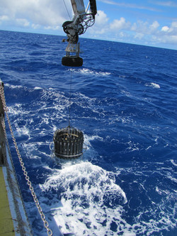 Sampling in the North Pacific
