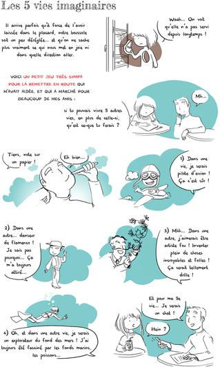 Les 5 Vies Imaginaires : à vous de jouer !