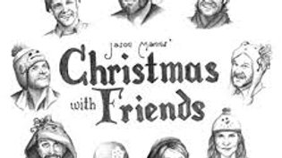 Christmas with Friends signed by Jason Manns