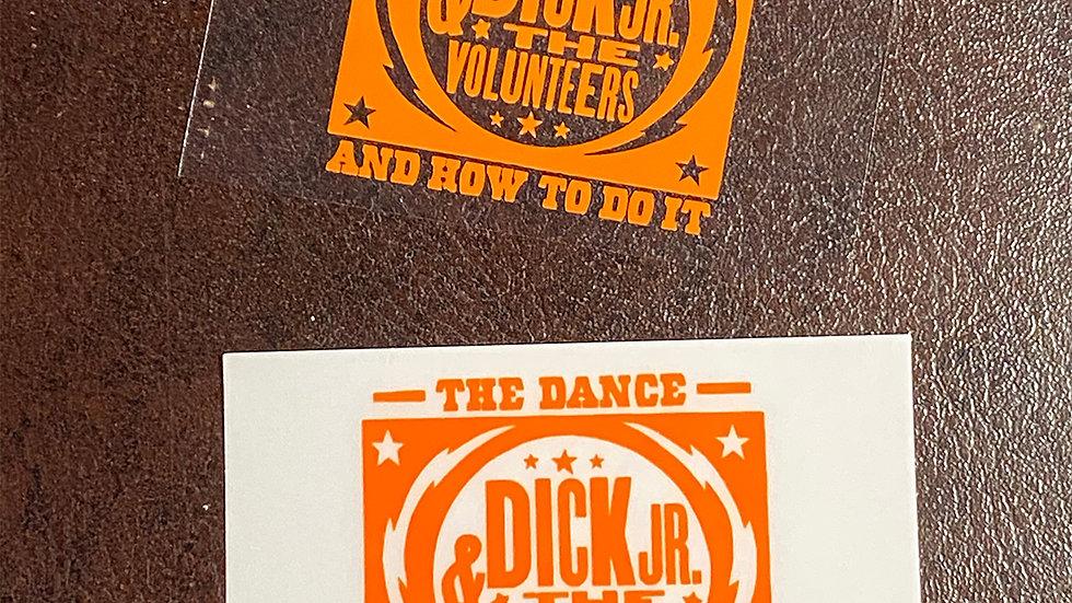 Dick Jr. custom decal
