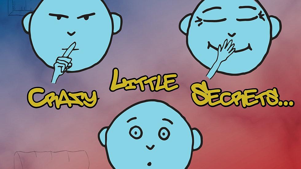 Crazy Little Secrets signed CD
