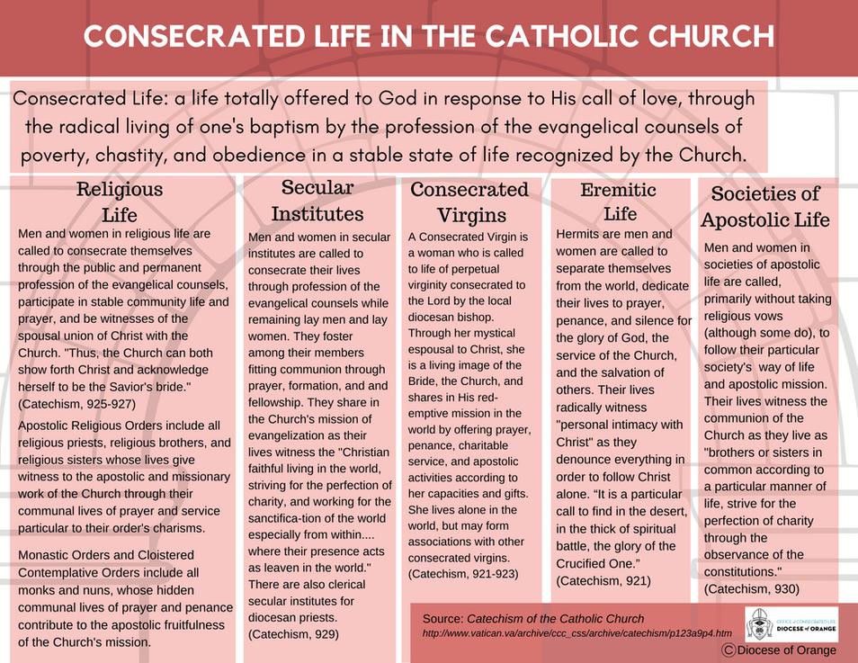 Consecrated Life & Societies of Apostoli