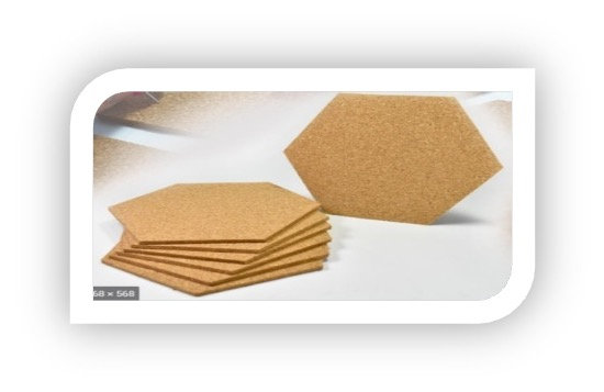 Cork-eco-friendly Coasters